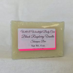 Black Raspberry Vanilla Shampoo Bar