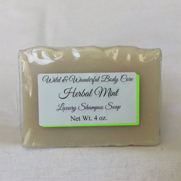 Herbal Mint Shampoo Bar