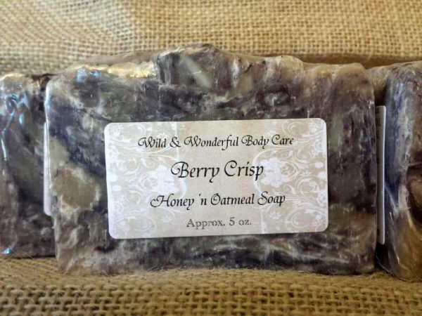 Berry Crisp Honey 'n Oatmeal Soap