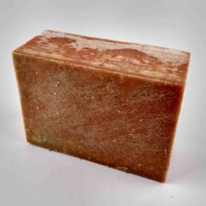 Candy Cane Bacon 'n Egg Soap